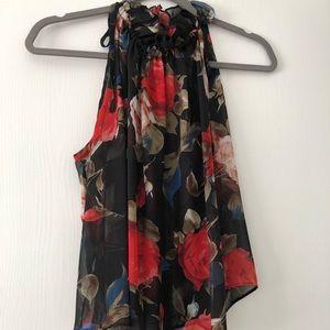 Silk Floral Halter